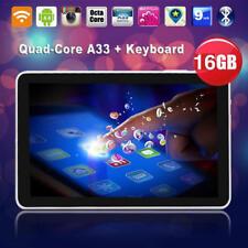 """3B86 N98 9"""" Android 4.4 Tablet PC Quad Core 1GB+16GB 800x480 W/ Mic EU Plug Whit"""