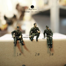 1:32 Soldier Model WW2 MILITARY Germans Army US Military Figure Collection Be