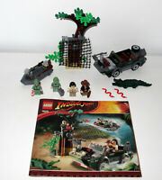 Lego 7625 Indiana Jones River Chase Complete with instructions - No box