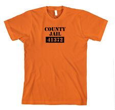 County Jail 41372 Funny Cotton Unisex T-Shirt Tee Shirt Top