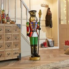 Large 3.5ft German wooden crafted LED Christmas Nutcracker
