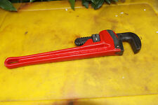 Rigid Heavy 14in Duty Pipe Wrench. Great old tool