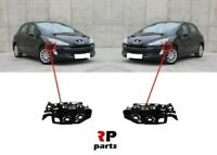 Pour Peugeot 308 2007 - 2011 Neuf Avant Pare-Choc Support Paire Set L & R