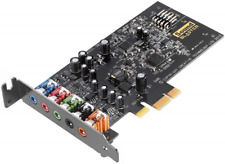 Creative Blaster Audigy Fx 5.1 PCIe Sound Card with SBX Pro Studio