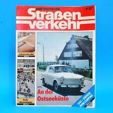 Der Deutsche Straßenverkehr 8/1987 Ribnitz-Damgarten Velorex 700 Bautzen G