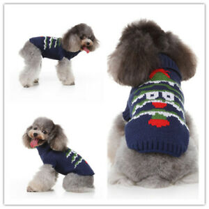 Pet Clothes Sweater Cute Puppy Autumn Winter Vest Costume for Small Medium Dog