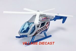 2020 Matchbox Thank You Heroes Sky Busters Airblade™ SILVER / NEWS 10 / MINT