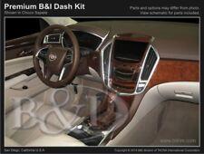 Dash Trim Kit for CADILLAC SRX 12 13 carbon fiber wood aluminum