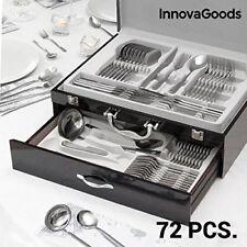 Cubertería de acero inoxidable Cook Dlux Innovagoods (72 piezas)