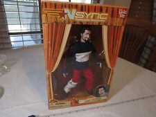 N Sync Collectible Marionette Figure Joey Fatone living toyz doll 2000 RARE box