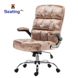 Home Office Chair Fabric Computer Desk Chair Adjustable Hight, Movable Armrest