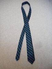 """Mens Tie-PIERRE CARDIN-black/blue checked silky """"slim"""" style"""