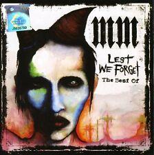 Marilyn Manson - Lest We Forget: The Best of [New CD] Bonus Track, Germany - Imp
