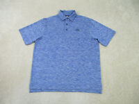 Footjoy Polo Shirt Adult Large Blue Lightweight Golfer Golfing Casual Mens B59