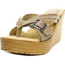 Sandalias y chanclas de mujer de tacón alto (más que 7,5 cm) Color principal Beige Talla 37.5