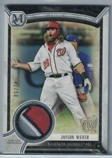 2018 TOPPS MUSEUM COLLECTION MEANINGFUL MATERIAL #MMRJW JAYSON WERTH #41/50