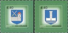 Estonia 2005 Town Arms/Coats-of-Arms/Castles/Tower/Heraldry  2v set s/a (ee1237)