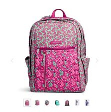 534bdeb6cc Vera Bradley Ditsy Dot Lighten up Grand Laptop Backpack Bag