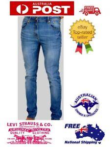 Levi's 511 Slim Fit Jeans Mens Denim Throttle Blue Stretch