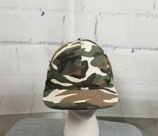 Finish Line Fitted Ball Cap Hat FINL365 size 7 1/4 Camouflage Cotton  Ai21