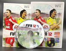 """NINTENDO WII SPIEL"""" FIFA FUSSBALL 2012 12 """" KOMPLETT"""