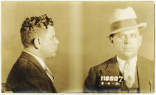 Photo Bertillon identification Policière Police Mug Shot Usa Philadelphia 1931