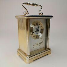 Vintage London Clock Company Quartz Carriage Clock