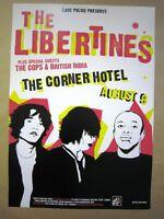 Libertines British India Melbourne (Richmond) 2004 Concert Poster Art Jazz Feldy
