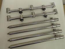 2 x 3 Rod stainless steel goal post /Buzz Bars + 4 x 16mm Bank sticks 30-50 cm.