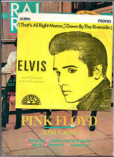 "RARO! 3/1989 PINK FLOYD SAMANTHA FOX NUOVA IDEA + 7"" 45 GIRI ELVIS PRESLEY"