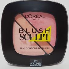 201 Soft Rosy Rose LOREAL BLUSH SCULPT TRIO CONTOURING BLUSH Pinks