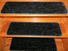 "17 Step  9"" x 30"" + 1 Landing 30"" x 30"" Stair Treads 100% Wool  Carpet"