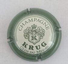 capsule champagne KRUG n°39 clos du mesnil