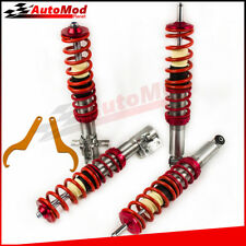 Coilover Suspension Kits for Volkswagen Golf MK1 75-84 Lowering Coil Springs Red
