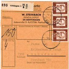 Echte Briefmarken aus der BRD (1960-1969) mit Post- & Kommunikations-Motiv