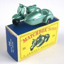 MATCHBOX LESNEY 36 lambretta scooter, rare, 1961, mib!