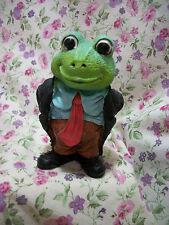 New Frog Figure In Suit
