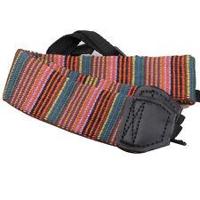 Camera Neck Strap for SLR DSLR Color stripes Soft red DSLR Shoulder Strap Grip
