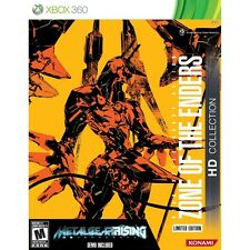 NEW Zone of the Enders HD Collection Limited Edition Xbox 360 collector's rare