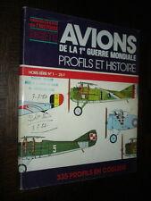 AVIONS DE LA 1re GUERRE MONDIALE - Profils et histoire1979 Aéronautique Aviation