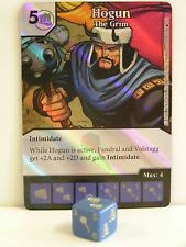 Dice Masters - 1x #026 Hogun The Grim foil-The Mighty Thor