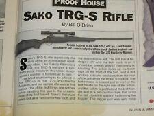 GUNS & AMMO TEST THE TAURUS 607, MARLIN 512 SLUG, SAKO TRG, + 30-06 LOADS