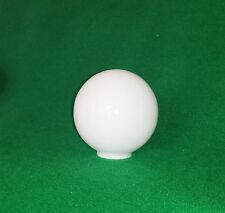 """12,5 cm (5 """") Bianco sferico Vetro Paralume (palla sfera globo lampadario)"""
