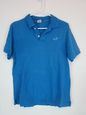 Vintage Hollister Short Sleeve Polo Shirt Men's Size Small Blue Collared muscle