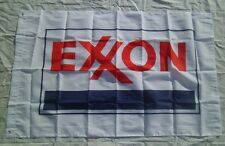 Exxon Oil Gas Flag 3' X 5'  Indoor / Outdoor Man Cave Service Station Flag #170