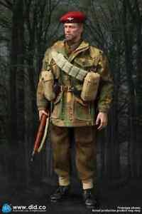 Sergeant Charlie Red Devils British 1st Airborne Division 2ª GM 1:6 DID