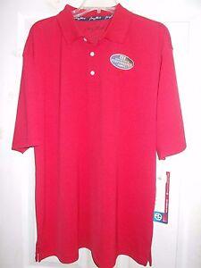 George Strait Cowboy Cut POLO Large Shirt MGSK20R Red Wrangler