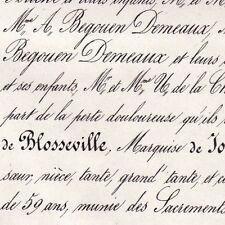 Claire Poret De Blosseville Emmanuel De Jousselin 1865