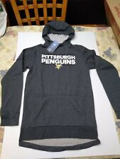 $100 adidas Pittsburgh Penguins Squad Pullover Hoodie Men's Size Small Hoody NEW