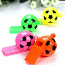 5Pcs Sport Football Soccer Whistle Party Loot Bag Filler Pinata Kid Toy Gift New